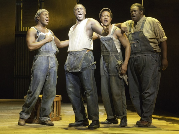 Show Photos - Porgy and Bess - Wilkie Ferguson - Joshua Henry - Trevon Davis - Roosevelt André Credit