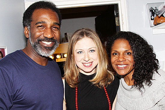 Porgy and Bess- Norm Lewis, Chelsea Clinton and Audra McDonald