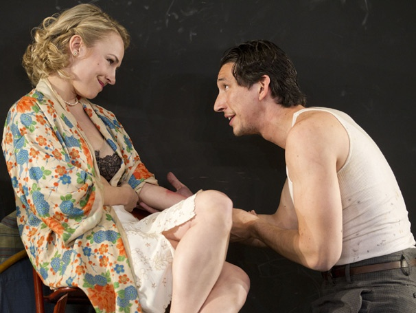 Show Photos - Look Back in Anger - Sarah Goldberg - Adam Driver