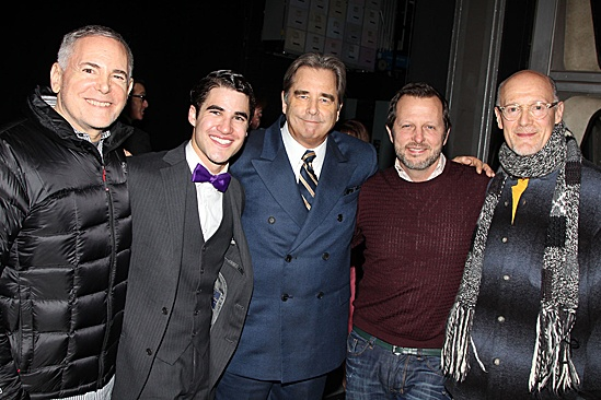 How to Succeed  Darren Criss Final  Craig Zadan -  Darren Criss  Beau Bridges - Neil Meron  Rob Ashford  Neil Meron