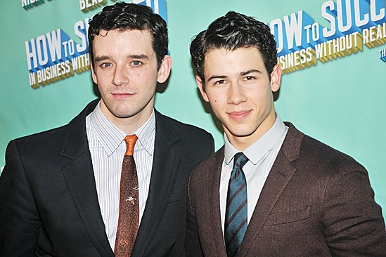 How to Succeed – Nick Jonas Opening – Michael Urie – Nick Jonas