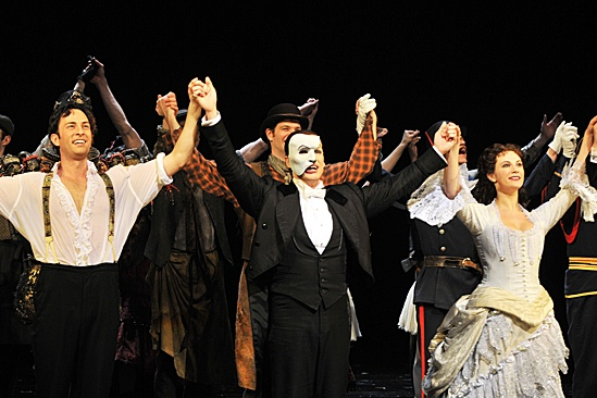 Phantom of the Opera – 10,000 Performance – Kyle Barisich – Hugh Panaro – Trista Moldovan