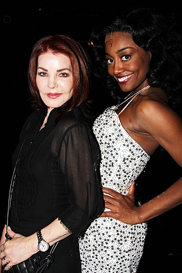Priscilla Presley at Sister Act -  Priscilla Presley  Patina Miller