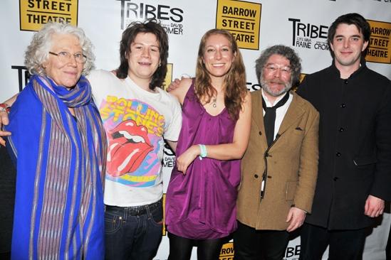 Tribes – Opening Night – Ann Pasternack Slater – Moses Raine – Nina Raine - Craig Raine – Ollie