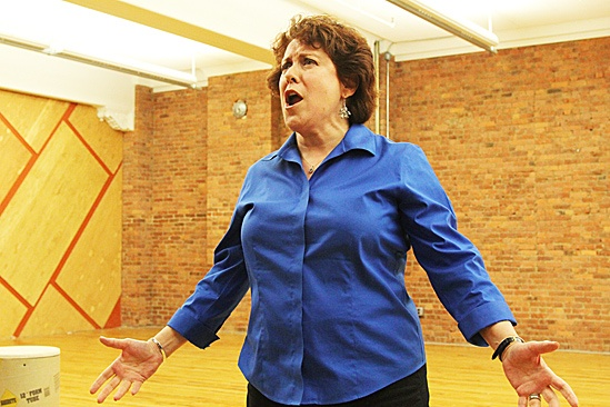 Nice Work If You Can Get It – Rehearsal – Judy Kaye
