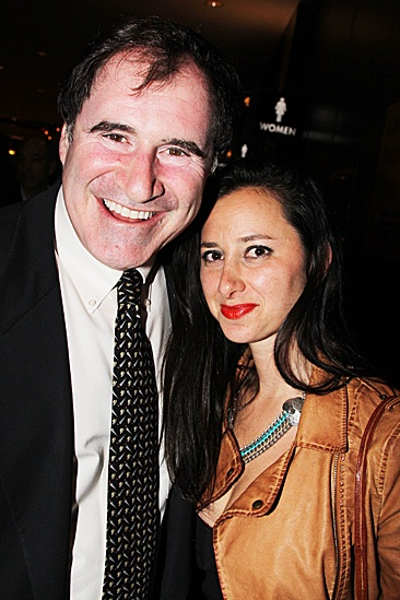 Jesus Christ Superstar opening night – Richard Kind and guest