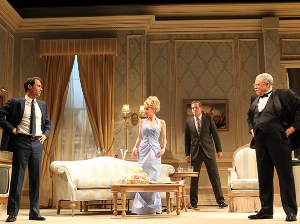 Show Photos - The Best Man - Eric McCormack - Joseph Cantwell - Kerry Butler - Corey Brill - James Earl Jones