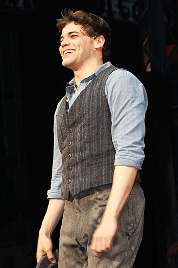  Newsies  Opening Night  Jeremy Jordan