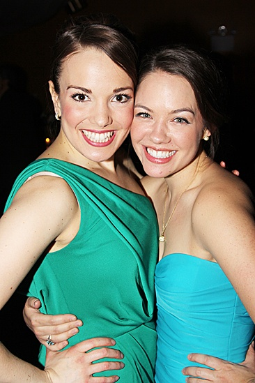 Newsies  Opening Night  Kara Lindsay - Laurie Veldheer