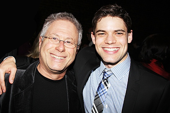 Newsies – Opening Night – Alan Menken – Jeremy Jordan