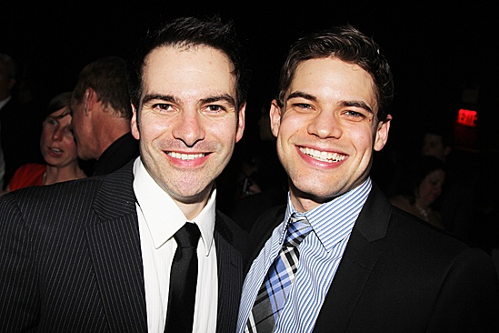 Newsies – Opening Night – Eduardo Castro – Jeremy Jordan
