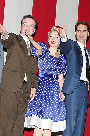 The Best Man  Opening Night  Jefferson Mays  Kerry Butler  Eric McCormack