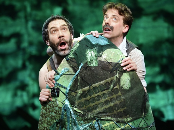 Show Photos - Peter and the Starcatcher - Kevin Del Aguila - Christian Borle