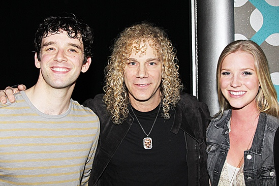 How to Succeed  David Bryan visit  Michael Urie  David Bryan  Gabby Bryan