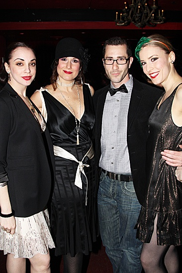Anything Goes - Joel Grey Sleep No More Birthday  Jennifer Savelli  Stephanie J. Block  David Solomon  Brittany Marcin