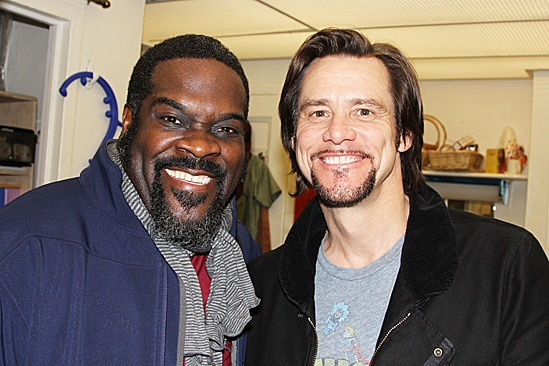 Jim Carrey at Porgy and Bess – Jim Carrey – Phillip Boykin