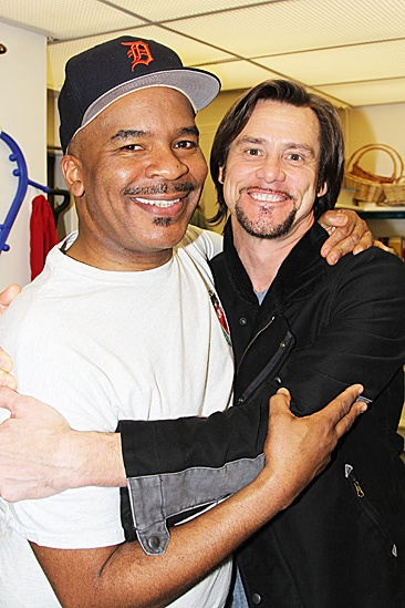 Jim Carrey at Porgy and Bess  Jim Carrey  David Alan Grier