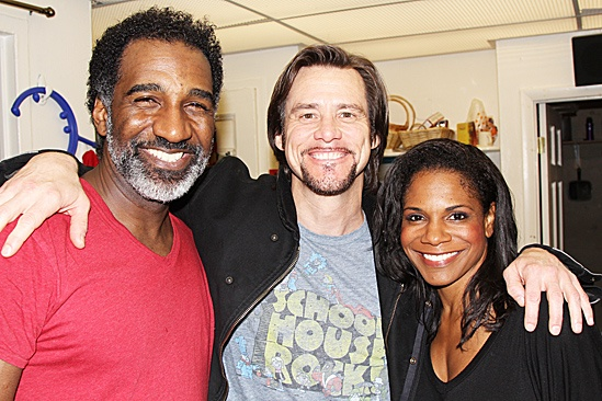 Jim Carrey at Porgy and Bess – Jim Carrey – Audra McDonald – Norm Lewis