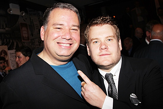 One Man, Two Guvnors opening night - Glen Gillen – James Corden
