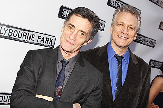 Clybourne Park Opening Night  Roger Rees  Rick Elice 