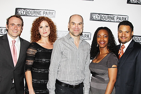 Clybourne Park Opening Night – Richard Thieriot – Carly Street – Greg Stuhr – April Yvette Thompson – Brandon J. Dirden