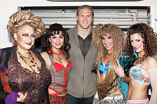 Rock of Ages – Clay Matthews Visit – Michele Mais – Neka Zang – Clay Williams – Katie Webber - Tessa Alves