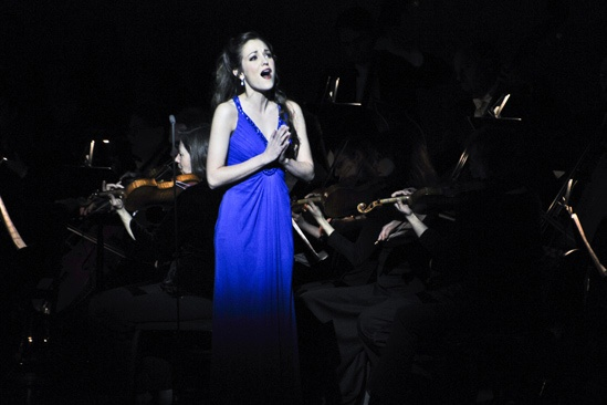 Sound of Music at Carnegie Hall  Laura Osnes (onstage)