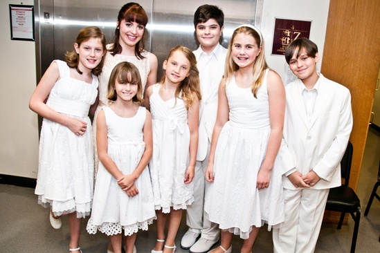 Sound of Music at Carnegie Hall – kids