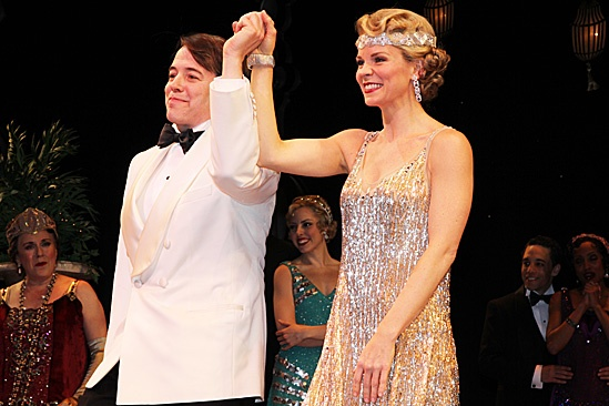Nice Work If You Can Get It – Opening Night – Matthew Broderick – Kelli O'Hara