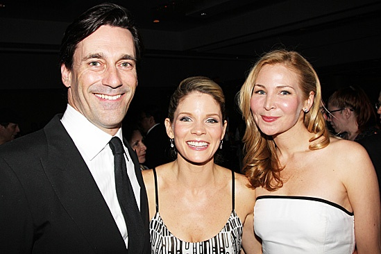 Nice Work If You Can Get It – Opening Night – Jon Hamm – Kelli O'Hara – Jennifer Westfeldt