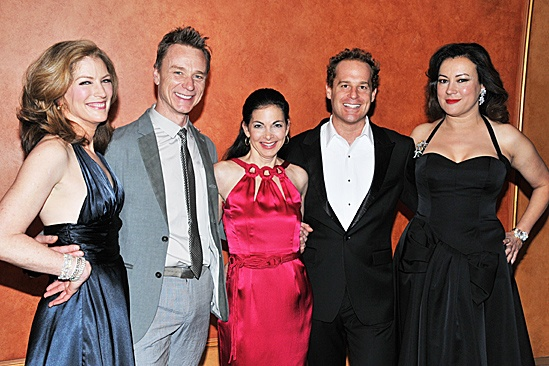 Dont Dress For Dinner  Opening Night  Patricia Kalember  Ben Daniels  Spencer Kayden  Adam James  Jennifer Tilly