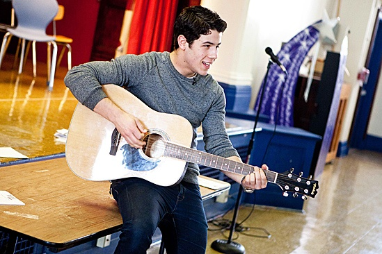 How to Succeed – Nick Jonas School Visit – Nick Jonas