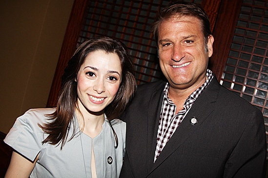 2012 Tony Brunch – Cristin Milioti – Jeff Calhoun