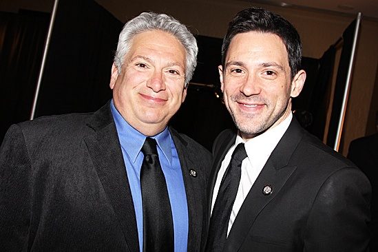 2012 Tony Brunch – Harvey Fierstein – Steve Kazee