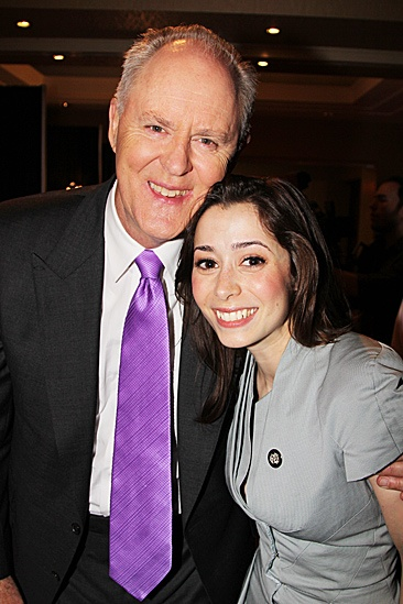 2012 Tony Brunch – John Lithgow – Cristin Milioti