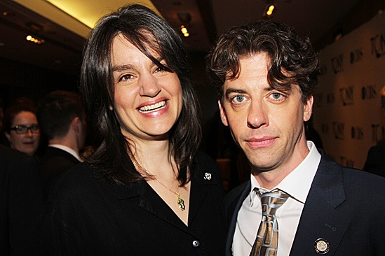 2012 Tony Brunch  Pam MacKinnon  Christian Borle