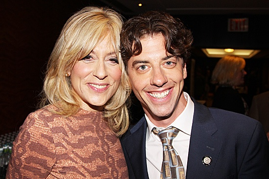2012 Tony Brunch  Judith Light  Christian Borle