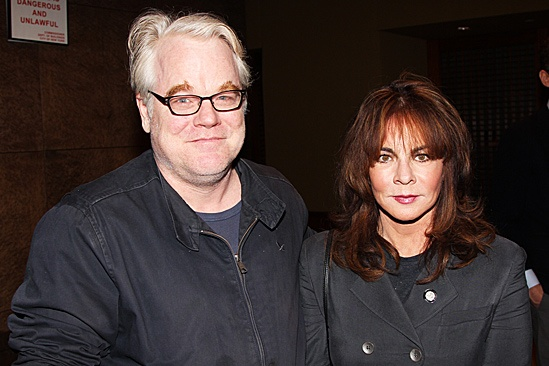 2012 Tony Brunch  Philip Seymour Hoffman  Stockard Channing