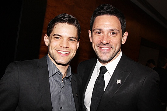 2012 Tony Brunch  Jeremy Jordan  Steve Kazee