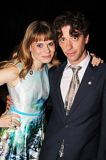 2012 Tony Brunch – Celia Keenan-Bolger – Christian Borle