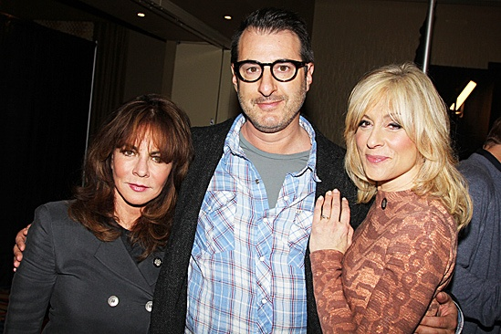 2012 Tony Brunch  Stockard Channing  Jon Robin Baitz  Judith Light