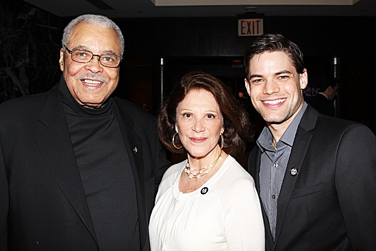 2012 Tony Brunch – James Earl Jones – Linda Lavin – Jeremy Jordan