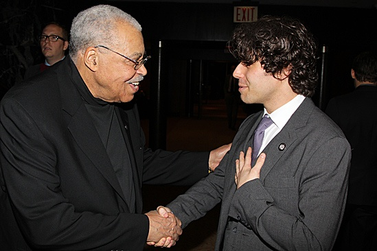 2012 Tony Brunch – James Earl Jones – Josh Young