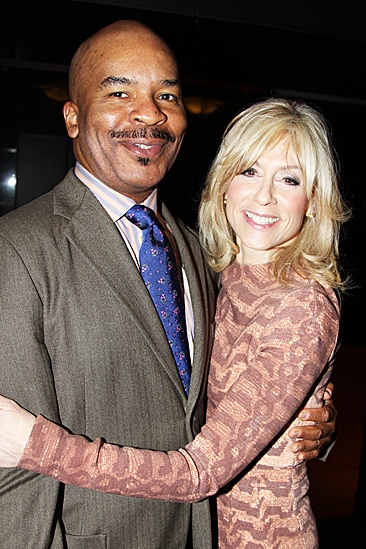 2012 Tony Brunch – David Alan Grier – Judith Light