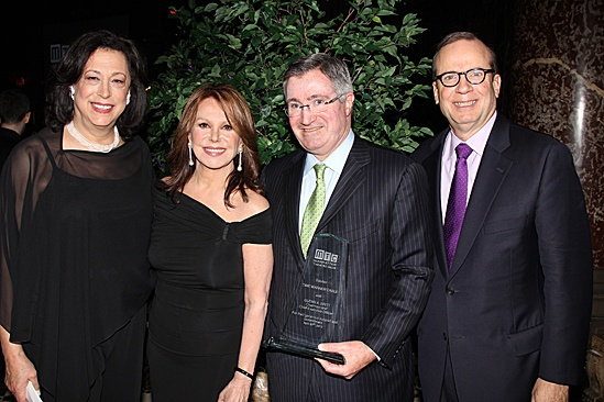 Manhattan Theatre Club – Spring Gala 2012 - Lynne Meadow – Marlo Thomas - Glenn A. Britt – Barry Grove