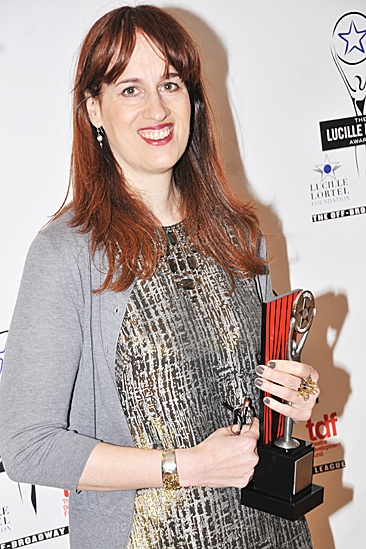 Lucille Lortel Awards – 2012 – Lauren Helpern