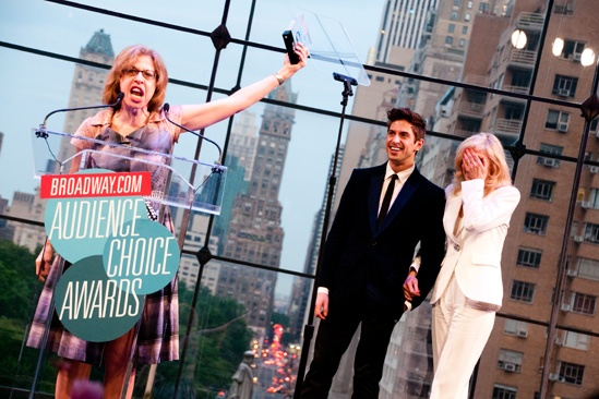 2012 Audience Choice Awards  Ceremony Photos  Jackie Hoffman  Nick Adams  Judith Light