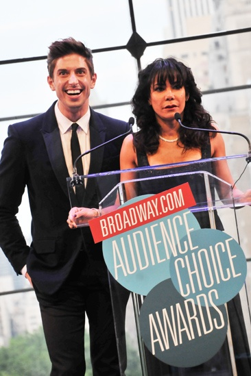 2012 Audience Choice Awards – Ceremony Photos – Nick Adams – Daphne Rubin-Vega