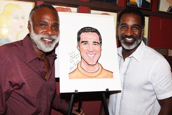 Norm Lewis portrait at Sardi's – Chapman Roberts – Norm Lewis