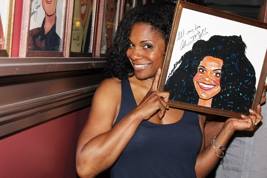 Norm Lewis portrait at Sardis  Audra McDonald